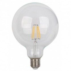 Bombilla Led E27 6w Globo Ø125mm ambiente regulable