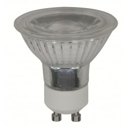 Dicroica Led regulabe 6W GU10 3 intensidades.